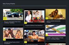 ESTABLISHED Prank Turnkey Website Business For Sale + Free Domain
