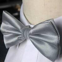 Bow tie fashion Wedding Party  Solid Color Cravat Male Bowtie A