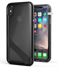 iPhone XS Clear Case Cover, Slim Transparent Cover (Reveal) Black