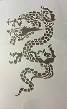 Dragon Sign A4 Mylar Reusable Stencil Airbrush Painting Art Craft
