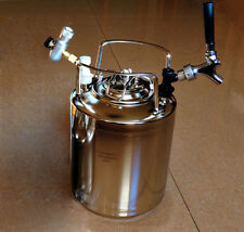 New 10L Cornelius Style Stainless Steel Beer OB Keg Party Keg Kit
