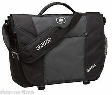 "OGIO Upton 17"" Laptop / MacBook Pro Black/Gray Messenger Bag - New"