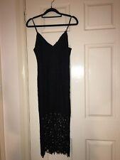 Bardot Ladies Black Lace Dress Size 8 Hardly ever used!