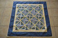 Vintage Baby Nursery Blanket Patchwork Block Stars Moon Unisex Blanket Retro