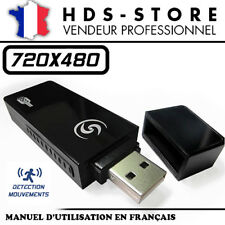 USBCAMU9 CLÉ USB CAMERA ESPION 480P MICRO SD JUSQU'À 32 GO DÉTECTION VIDÉO PHOTO