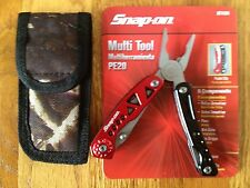 SNAP-ON MULTI-TOOL PLIERS 8 COMPONENTS PE20 with NYLON CAMO SHEATH NEW