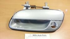 GENUINE BRAND NEW LH FRONT OUTER HANDLE SILVER SUITS HYUNDAI ELANTRA 2003-2006