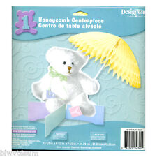 Plush Bear Centerpiece for Baby Shower of Birthday-So cute-See my store for more