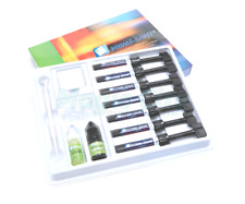 Prime-Dent Light Cure Hybrid Dental Resin Composite 7 Syringe Kit