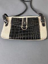"Koltov Crossbody Beige Marbled Brown Handbag 9 1/2"" Length 2009"