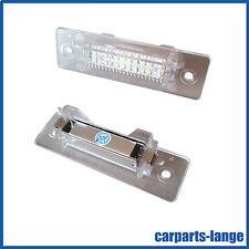 LED SET PORSCHE Kennzeichenbeleuchtung Kennzeichen Leuchte - TÜV FREI - NEU