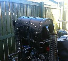 Bolsa trasera de cuero Top Case Alforja Alforja Trike Harley Davidson VW Goldwing
