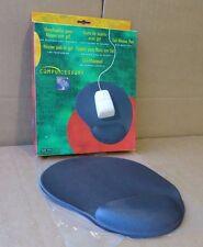 Compucessory Imac Mouse Mat Ergonomic Non-slip with Gel Wrist Rest Grey Ccs55151