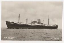 East Asiatic Company M.S. Malacca Shipping Rp Postcard, Us006