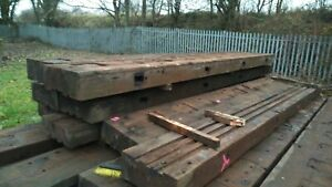 CREOSOTED PRESSURE TREATED TIMBER SIZE 250mm x 600mm x 6m lengths