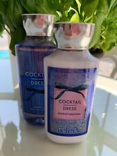 Bath and Body Works Cocktail Dress Crystal Peonies Body Lotion & Shower Gel Set