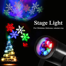 3W RGB LED Laser Rotating Effect Stage Light Halloween Party Club Bar Xmas Decor
