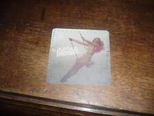 beermat DIZZY BLONDE beer mat Robinson's promo Stockport unused design 1
