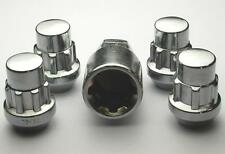 4 x Locking Wheels Nuts Locks for Nissan Navara '05- M12 x 1.25