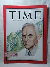 TIME Magazine February 4 1952 Canadian Clarence Howe