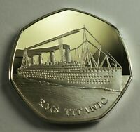 Collectable RMS TITANIC Silver Commemorative. Albums/Collectors. White Star Line