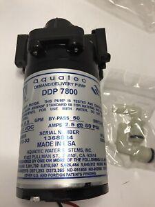 Aquatec Demand Delivery Pump 7800 12V Amps 2.5 50 PSI New 210143