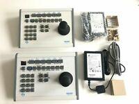 Pelco KBD-300A PTZ Joystick Controller with KBD-KIT wiring kit 110-220V
