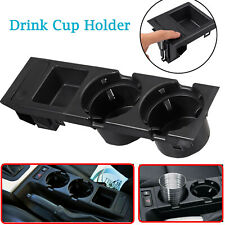 Black Front Center Console Cup Drink Coin Holder For BMW 3 Series E46 323i 99-06(Fits: M3)