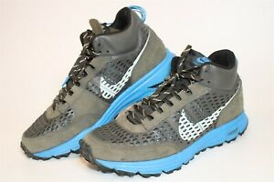 Nike Mens Size 12 46 Lunar LDV Trail Running Mid Top Sneakers Shoes 599471-004