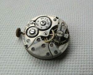 vintage Buser 10.5''' watch movement for spares