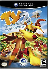 TY2 The Tasmanian Tiger Bush Rescue Nintendo GameCube Complete