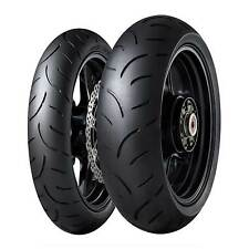 Dunlop SPORTMAX QUALIFIER II 120/70 ZR17 (58W) y 180/55 ZR17 (73W) Neumáticos De Bicicleta