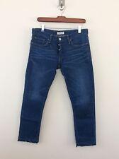 Ron Herman Denim Boyfriend Jeans size 27 Blue Bell Wash