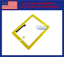 iPad 3 & iPad 4 Replacement Touchscreen Digitizer Front Panel - Yellow