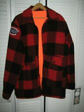 New listing Woolrich Reversible Hunting Coat