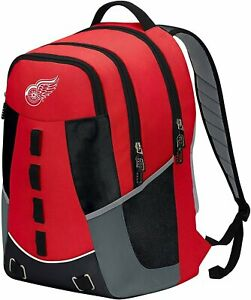 Detroit Red Wings Premium Embroidered Backpack Heavy Duty Personnel Hockey