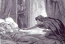 Historia de vampiros Carmilla Joseph Sheridan Le Fanu 7x5 pulgadas impresión Mujer Estaca