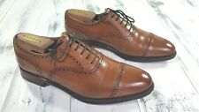 Stunning! Meermin Mallorca Brogue Cap Toe, Antique Chestnut UK 7 / US 8.5, Spain