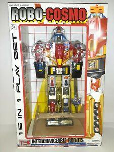 Tek Toys Robo-Cosmo Transformer Voltron 15 in 1 Set Sealed