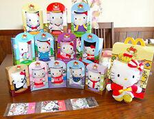 RARE McDonald's Hello Kitty Cosplay Party Collector Set