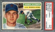 1956 TOPPS HARMON KILLEBREW #164 PSA 9 MINT; POP 1 of 14