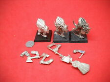 Warhammer: Lizardmen: Seraphon: metal Temple Guard Command x3