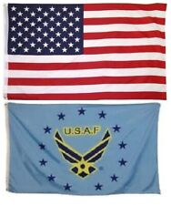 New listing Wholesale Combo Lot 3' X 5' Usa American & Air Force Wings Flag Banner 3X5 Lb1