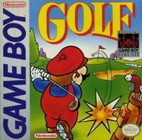 Golf Nintendo Game Boy