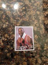 Michael Jordan Stamp Tatarstan Rare Mint