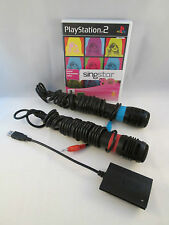 Sony Playstation 2 PS2 - Singstar 80s + 2 Microphones