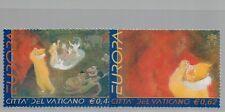 2002 Vaticano Michel n. 1415-1416 Fresco Posta