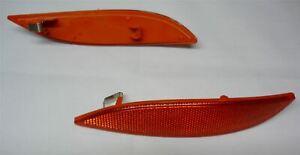 For Renault Megane MK3 rear bumper reflector light lens / left side 265600004R