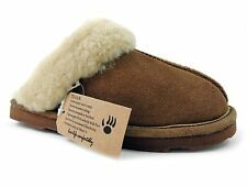 Bearpaw Women's Tegan Slippers Hickory Hickory Suede Size 5