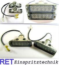 Blinkleuchte Blinkleuchten Satz LED VW Golf 2 mit Kabel